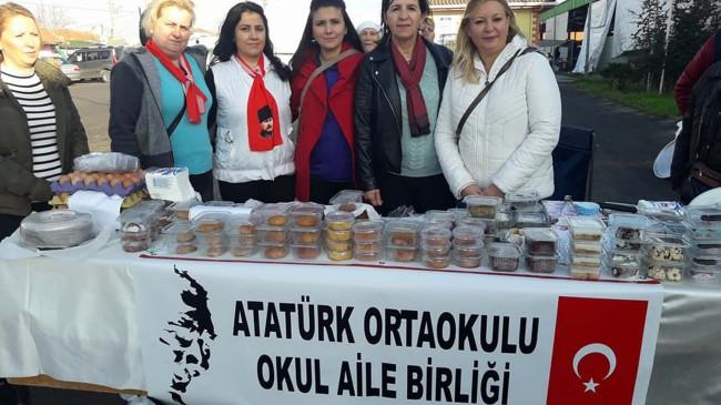 Atatürk Ortaokulu Lokma Etkinliği