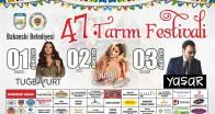 47. Babaeski Tarım Festivali bugün başlıyor