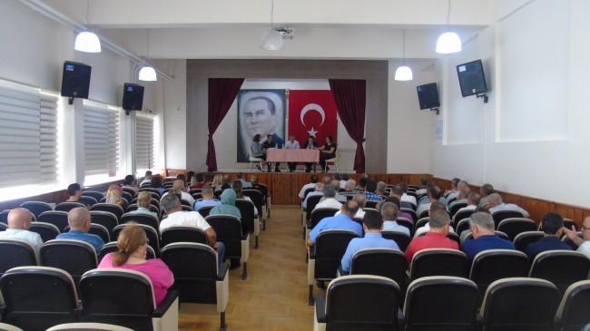 Babaeski'de 2019-2020 Eğitim-Öğretim Yılı Toplantısı