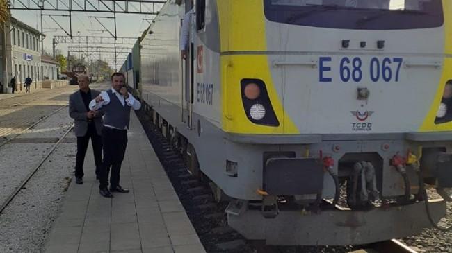 Alpullu için tarihi an: İpek Yolu'nun ilk treni Alpullu'ya ulaştı