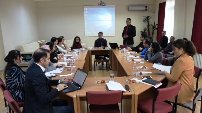 BMYO'da kurumsal eğitim faaliyetleri bilgilendirme toplantısı