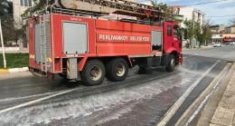 Pehlivanköy'de korona önlemleri alınmaya devam ediyor
