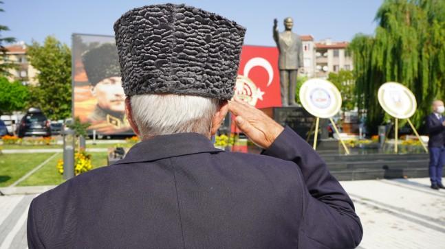 """Lüleburgaz'da """"Gaziler Günü"""" kutlandı"""