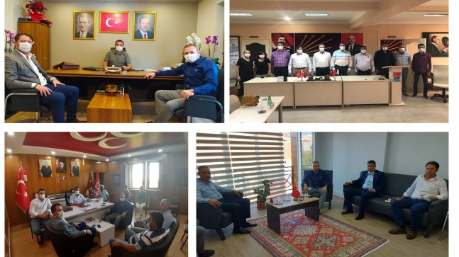 KTSO'dan siyasi partilere ziyaret