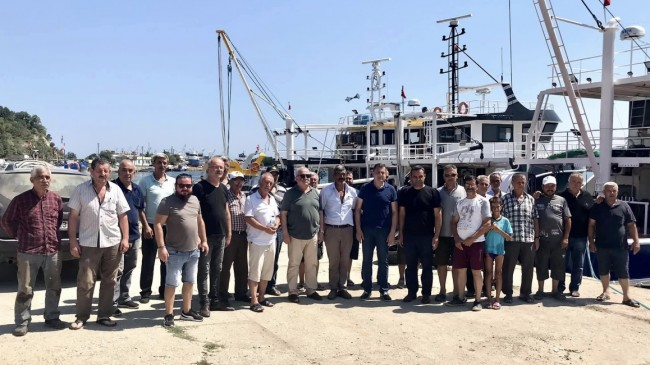 """Gündoğdu; """"Balıkçılarımızın Güvenli Limanı Biz Olacağız"""""""