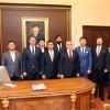 Başkan Özün'den Vali Bilgin'e ziyaret