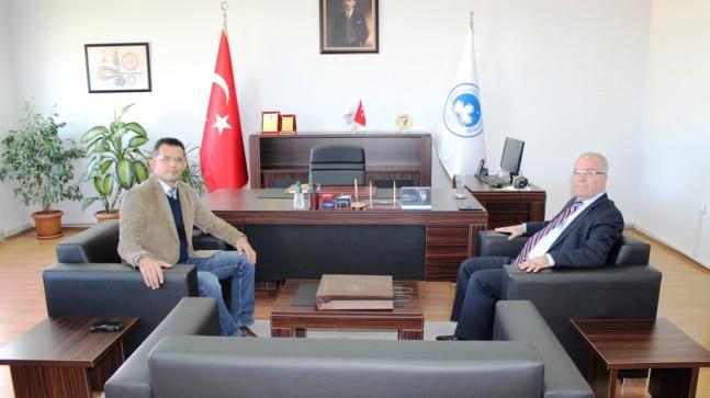 Başkan Hacı'dan BMYO ziyareti