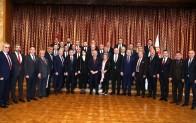 Özün ve Öner TBMM Başkanı Şentop'u ziyaret etti
