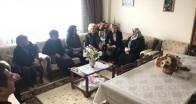 İlknur Bilgin'den Şehit ailesine ziyaret