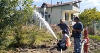 İlk su verildi