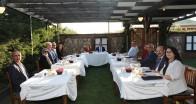 Vali BİLGİN'den Jandarma  Komutanına  veda yemeği…