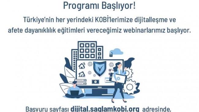 Sağlam KOBİ Dijitalleşme ve Afet Dayanıklılığı Programı