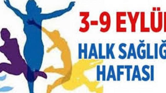 3-9 Eylül Halk Sağlığı Haftası